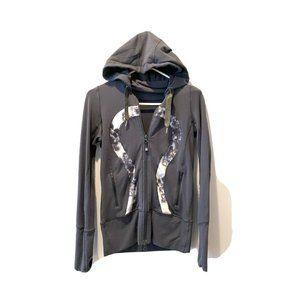 Lululemon Daily Practice Jacket 4 Grey Thu…